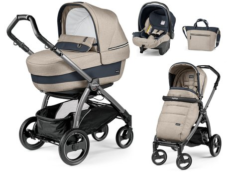 Peg-Perego 儿童推车Book S Modular Set Elite Luxe Beige 2018 - 大图像