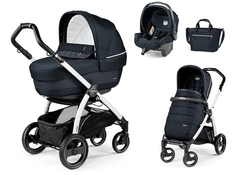 Peg-Perego 儿童推车Book S Modular Set Elite Luxe Bluenight 2018 - 大图像