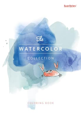 "Baby Björn Malbuch ""The Watercolor Collection"" 2016 - 大图像"