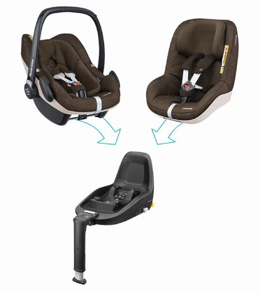 Maxi Cosi 迈可适 2Way Family Concept家庭概念装 Nomad Brown 2018 - 大图像