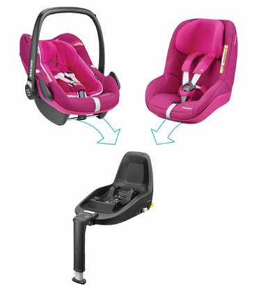 Maxi Cosi 迈可适 2Way Family Concept家庭概念装 Frequency Pink 2018 - 大图像
