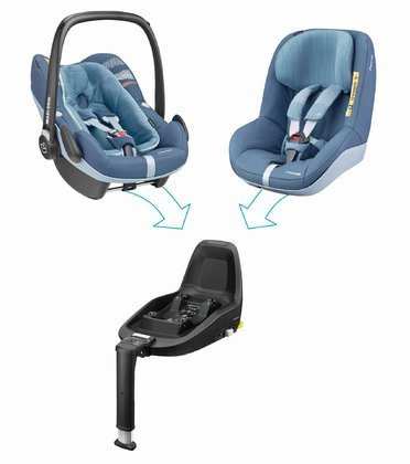 Maxi Cosi 迈可适 2Way Family Concept家庭概念装 Frequency Blue 2018 - 大图像