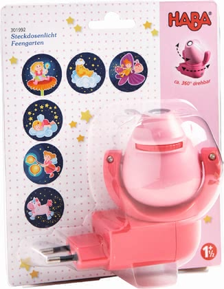 "Haba Plug-In Night Light ""Fairy Garden"" - *"