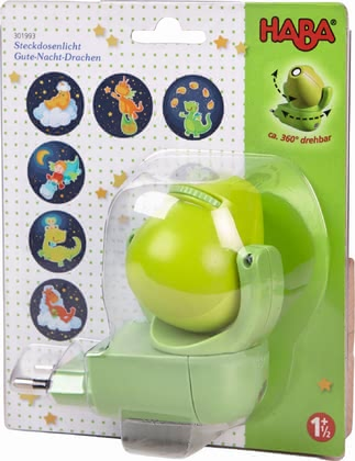 "Haba Plug-In Night Light ""Good-Night-Dragon"" - 大图像"