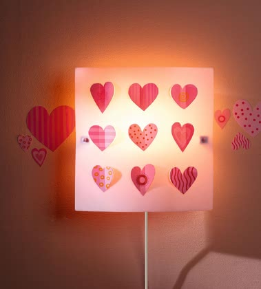 Haba heart wall light 2017 - 大图像