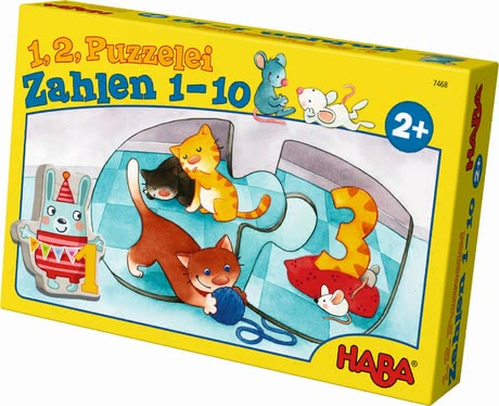 Haba One, two, puzzle-to-do – Numbers from 1 to 10 2017 - 大图像