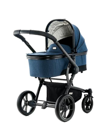 Moon multi-functional stroller Cool with aluminium carrycot ocean - fishbone 2018 - 大图像