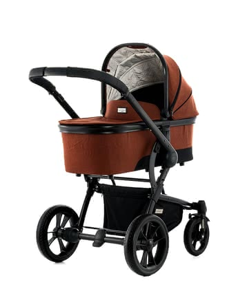 Moon multi-functional stroller Cool with aluminium carrycot ginger - fishbone 2018 - 大图像