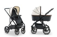 Moon Multi-Functional Stroller Nuova Special with Aluminium Carrycot - *