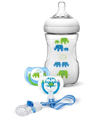 AVENT Natural Gift Set Elephant - *