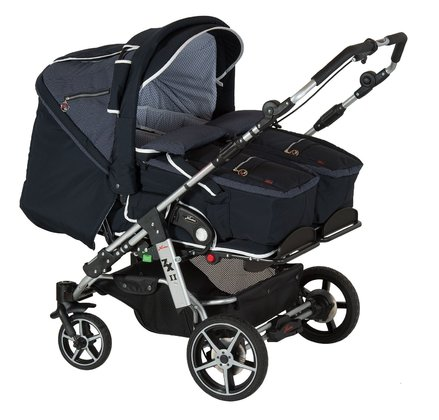 Hartan twin and sibling stroller ZXII incl. 2 soft bags 829 2017 - 大图像