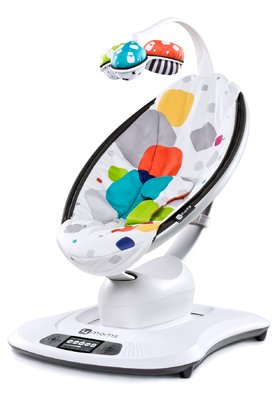 4moms baby rocker mamaRoo Multi Plush 2017 - 大图像