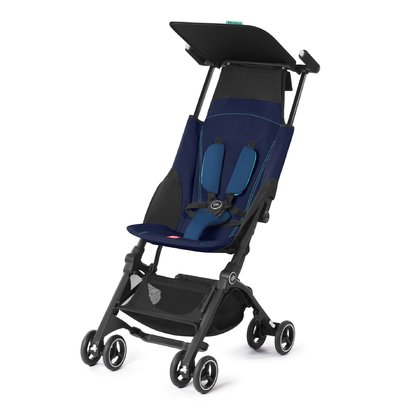 Gb by Cybex Pockit + 伞车轻便推车 进阶版 Sea Port Blue - navy blue 2017 - 大图像