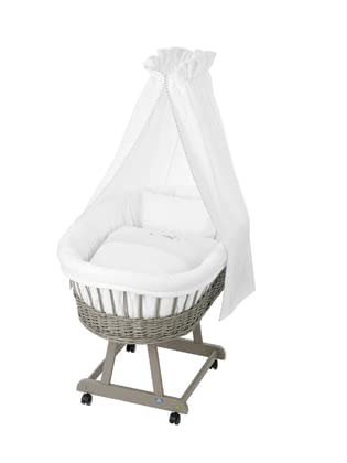 "Alvi Complete Set Bassinet ""Birthe"", Taupe – ""Counting Sheep"" 2017 - 大图像"