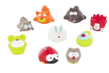 "Badabulle Bathing Animals ""Forest"" – 6 Pieces"