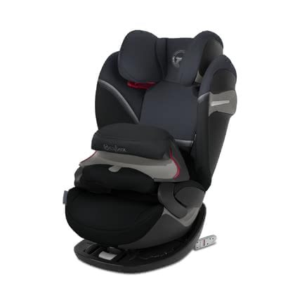 Cybex儿童安全座椅Pallas S-Fix Granite Black - black 2020 - 大图像