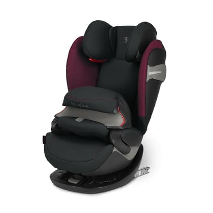 Cybex Scuderia Ferrari 儿童安全座椅Pallas S-Fix Victory Black - black 2019 - 大图像