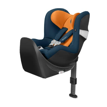 Cybex Child Car Seat Sirona M2 i-Size including SensorSafe and Base M i-Size Tropical Blue_navy blue 2019 - 大图像