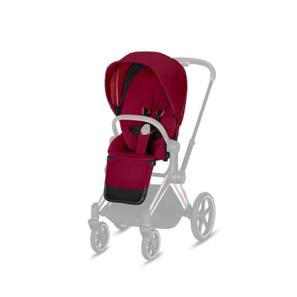 Cybex Platinum Priam Seat Pack 推车座椅部分套装 True Red - red 2019 - 大图像