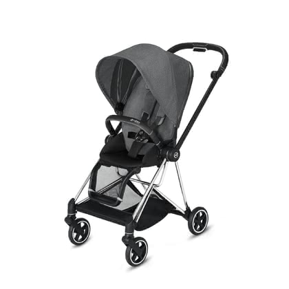 Cybex Platinum MIOS Seat Pack 推车座椅套装 Manhattan Grey Plus - mid grey 2021 - 大图像