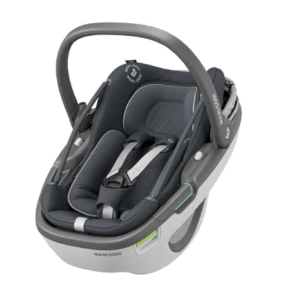 Maxi Cosi Infant Car Seat Coral i-Size Essential Graphite 2020 - 大图像